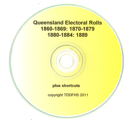Qld Electoral Rolls